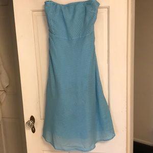 Strapless J.Crew Dress